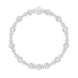 花かずら(6mm)白露色水晶・クォーツブレスレット