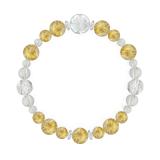 花かずら(8mm)黄金色ルチルクォーツ・水晶(クォーツ)ブレスレット