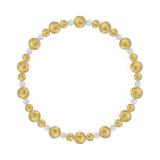 鳳凰(6mm)黄金色ルチルクォーツ・水晶(クォーツ)ブレスレット
